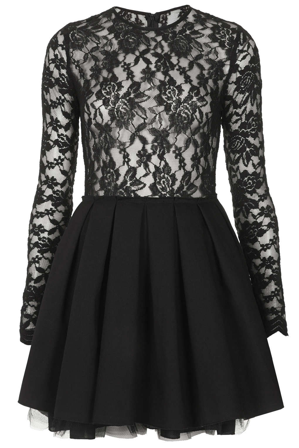 Black lace jones and jones dresses