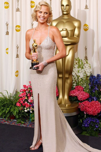 Charlize Theron In Gucci 2004 Latest Wrinkle