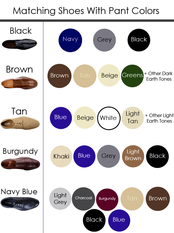 Brown Dress Shoes For Men What Color Pant