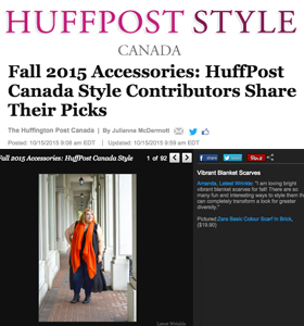 Huff Post Style | October 2015