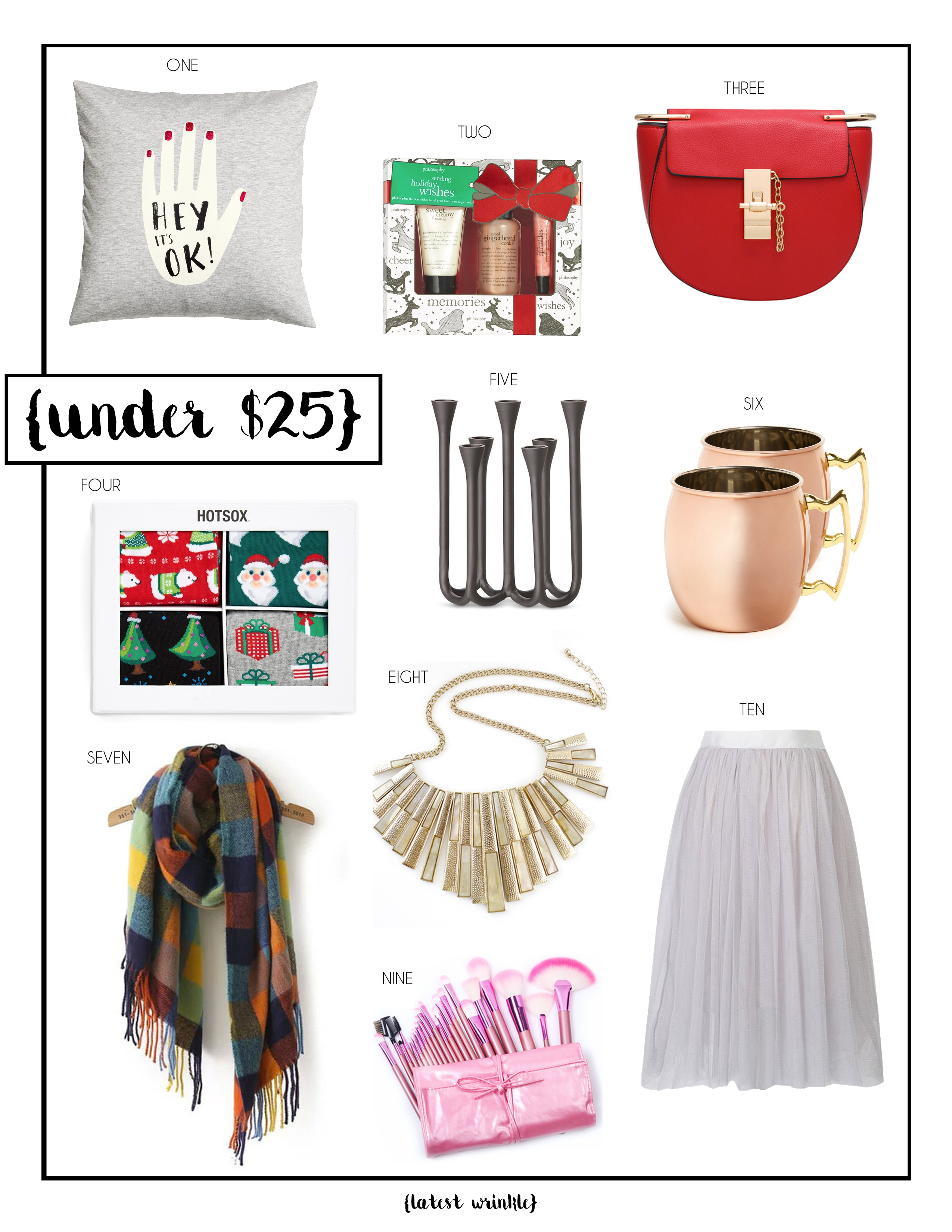 GIFT GUIDE | UNDER $25