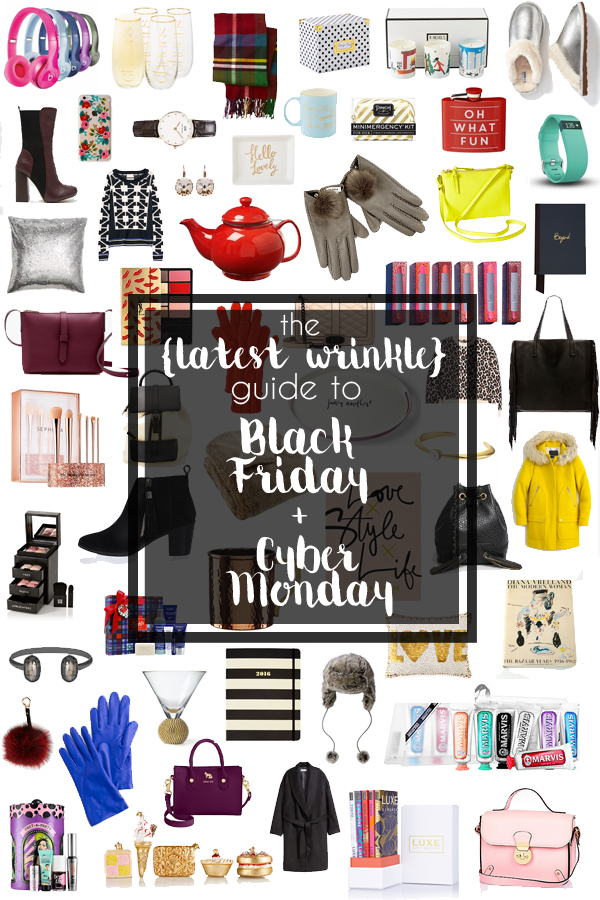Guide to Black Friday + Cyber Monday 2015