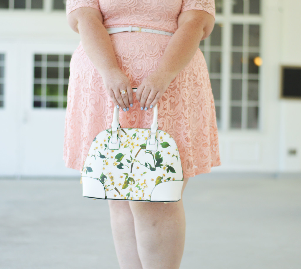 Clementine {Pink Lace Dress} 03