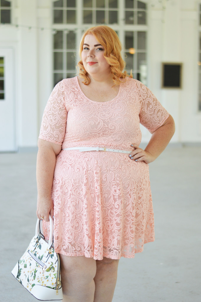 Clementine {Pink Lace Dress} 04