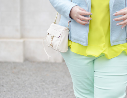 Minty-Lime Latest Wrinkle Plus Size Blogger Canada 05