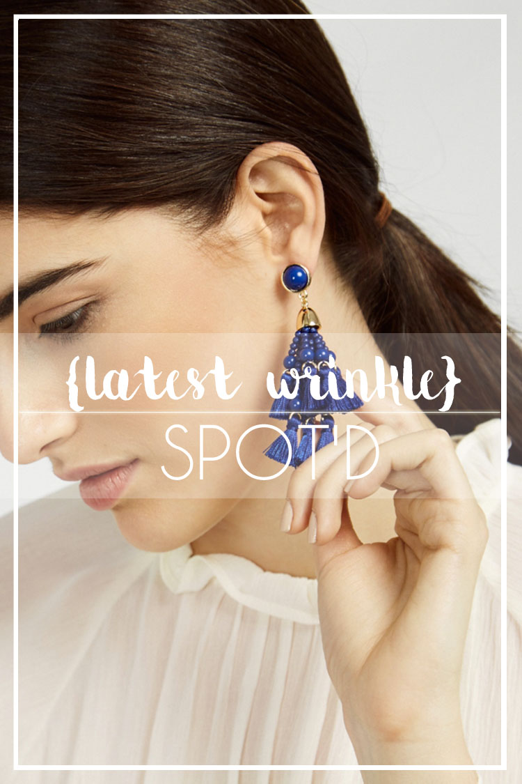 SPOT'D | Tassel + Beaded Earrings